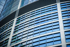 Windows of office buildings Royalty Free Stock Images