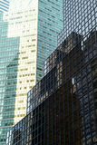 Windows of office buildings in New York Stock Photo