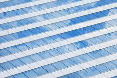 Windows of an office with reflection Stock Photography