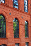 Windows of old building in Manufactura Royalty Free Stock Photography