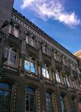 Windows of old building. In Odessa Stock Images