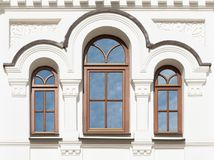Windows of old building Royalty Free Stock Photography