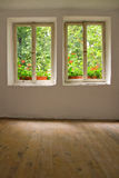 Windows, old house Royalty Free Stock Images