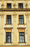 Windows of old house Royalty Free Stock Photos