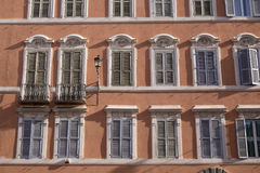 Windows in old style Royalty Free Stock Photo