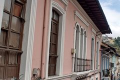 Free Windows On A Colonial Building In The Old Town, Quito, Ecuador Royalty Free Stock Images - 103512569