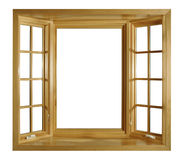 Windows open Stock Photography
