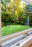 Windows open to fall breezes Stock Photography
