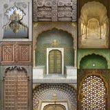 Windows orientale esotico & portelli Fotografie Stock