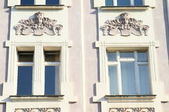 Windows with ornaments Stock Photography