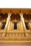 Windows and outdoor design of thai temple Stock Images