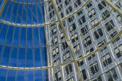 Windows på världen Arkivfoto