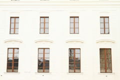 Windows of a palace Stock Image