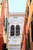 Windows of palace in Venice Stock Photos