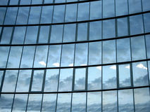 Windows pattern. Office building Royalty Free Stock Photography