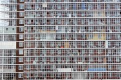 Windows pattern Stock Photo
