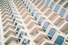 Windows pattern textures exterior of building Stock Photos