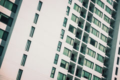 Windows pattern textures exterior of building Royalty Free Stock Image