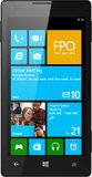Windows phone Vector. With active screen Royalty Free Stock Image