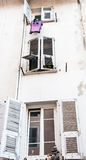 Windows. Photo from my trip to Ajaccio in France Royalty Free Stock Photography