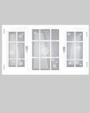 Windows Plastic Royalty Free Stock Photo