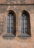 Windows plomado Imagen de archivo libre de regalías