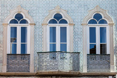 Windows in Portugal royalty free stock photos