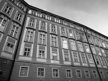 Windows of Prague Castle Stock Images