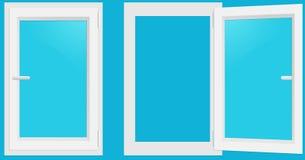Windows PVC Στοκ Εικόνα
