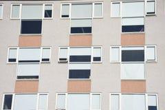 Windows pvc moderno de Reykjavik, Islandia Fotografía de archivo libre de regalías