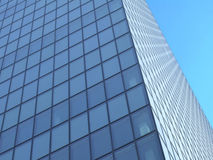 Windows in raster-lines. Of a sky-scraper stock image