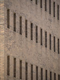 Windows on a Red Brick Building Royalty Free Stock Images