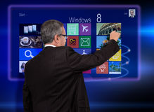 Windows 8 Stock Images