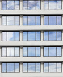 windows reflect the sky in sunny day Royalty Free Stock Photo