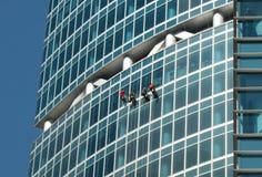 Windows-Reinigung Lizenzfreies Stockfoto