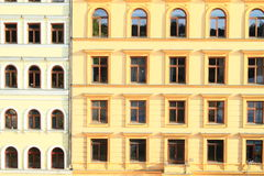 Windows of renaisance house royalty free stock photography