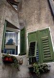 Windows in Revo Italien Lizenzfreies Stockfoto