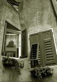 Windows in Revo Italy Royalty Free Stock Photos