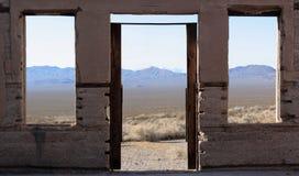 Windows, Rhyolite Stock Images