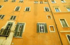 Windows in Rome Royalty Free Stock Photos