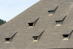 Windows on the roof Royalty Free Stock Photo