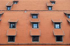 Windows on the roof Stock Image