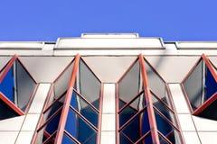 Windows rosso fotografia stock