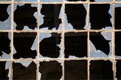 Windows rotto Immagine Stock