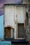 Windows of a ruin. Windows of a morbid home Royalty Free Stock Photos
