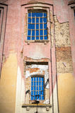 Windows in ruins Royalty Free Stock Image