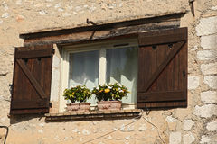 Windows on Saint Paul de Vence Stock Image