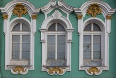Windows from Saint Petersburg Royalty Free Stock Image