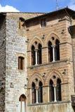 Windows San Gimignano Стоковые Изображения RF