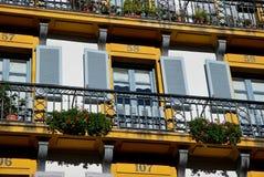The windows of San Sebastian